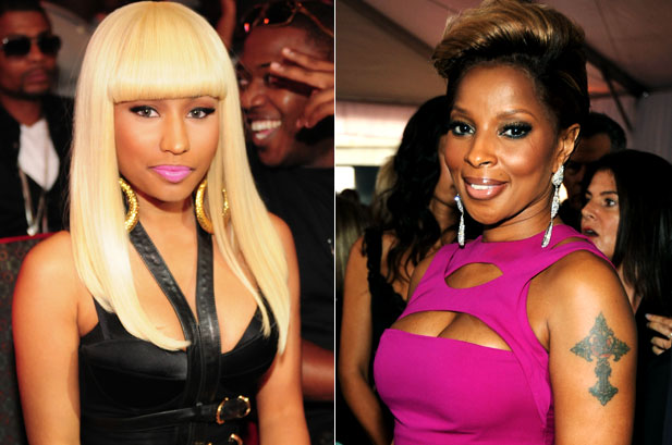 7425f54b2595c75b9c93dd7865c33f76 Mary J. Blige & Nicki Minaj Head Hip Hop Heavy Halftime Show