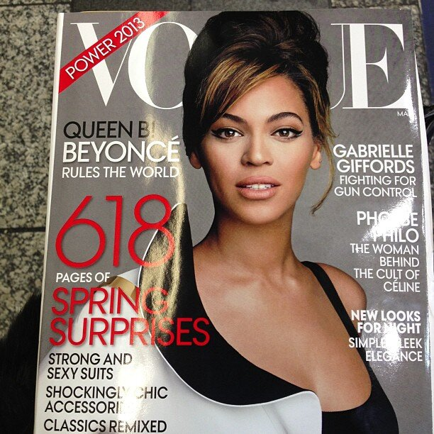 76cce03691ea1d6e9fa3b64db3c4f4a1 Must See: Beyonce Beams For New Vogue Cover