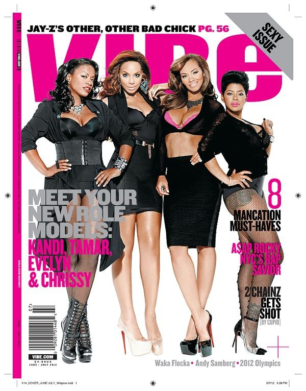 81cfda86a9aeeedf56a7836d4058fbeb Role Models : Evelyn Lozada, Kandi Burruss, Tamar Braxton & Chrissy Lampkin Join Forces For VIBE