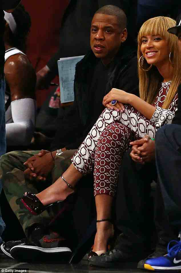 9f2ae6370362f343ddfcbf1217492257 Hot Shots: Beyonce Hits The Barclays Center With Jay Z