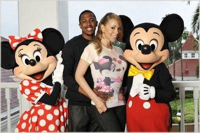 Mariah & Nick At Disney World