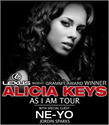 Competition: Alicia Keys Tour Give-Away! - Week 3 Winners