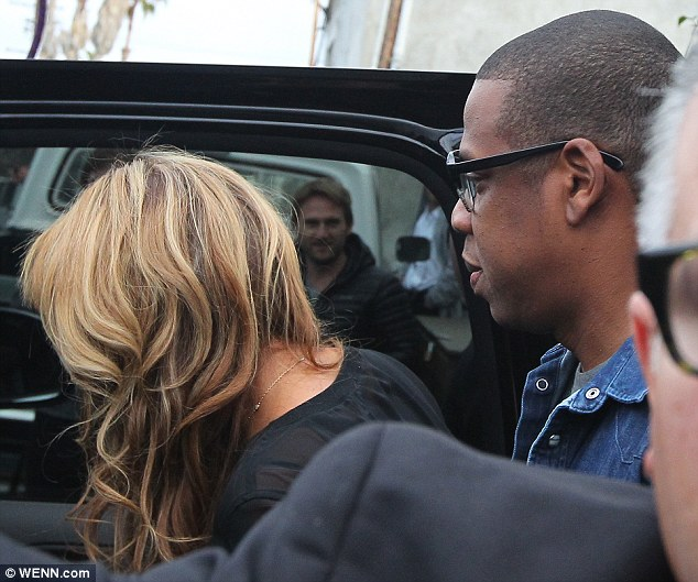 c17404e208c2034b98d1b6753bc1ca02 Hot Shots: Beyonce & Jay Z Hit LA For 55th Annual Grammy Awards