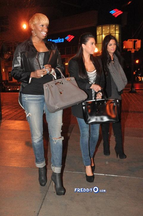 c33494df81b27b87f0d3a66d8407371b Photos: NeNe Leakes & Kim Kardashian Dine In Atlanta...Together