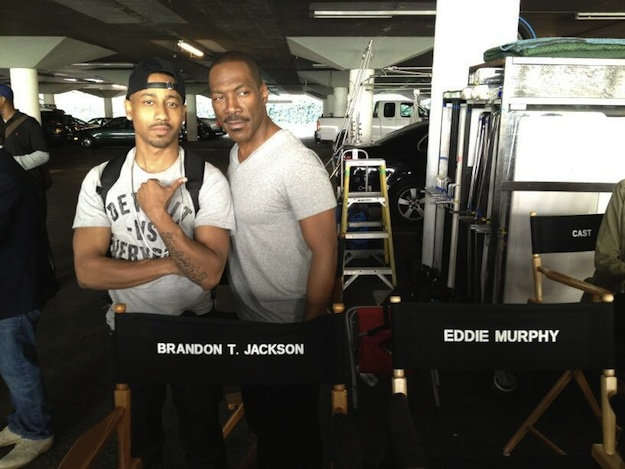 d0891da819ad6069e4f5a4e155efff50 Eddie Murphy Begins Work On 'Beverly Hills Cop' TV Series