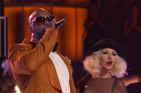 d1394bf8d1899fdbd4565bbfcfb04f10 Watch:  Christina Aguilera Rocks The Voice With Flo Rida