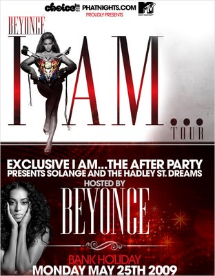 d13e4527e0b10c35ce077c95072e956d Competition: Win Tickets To Beyonce I Am... Tour After Party in London Hosted By...Beyonce!
