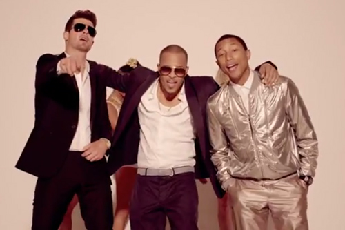 d175694e3d29bdf143427a86d1c89a88 New Video:  Robin Thicke   Blurred Lines