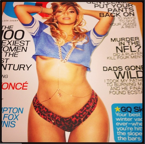 d22e940265412fe8bd12733942cee753 Hot Shot: Beyonce Strips Off For GQ ?