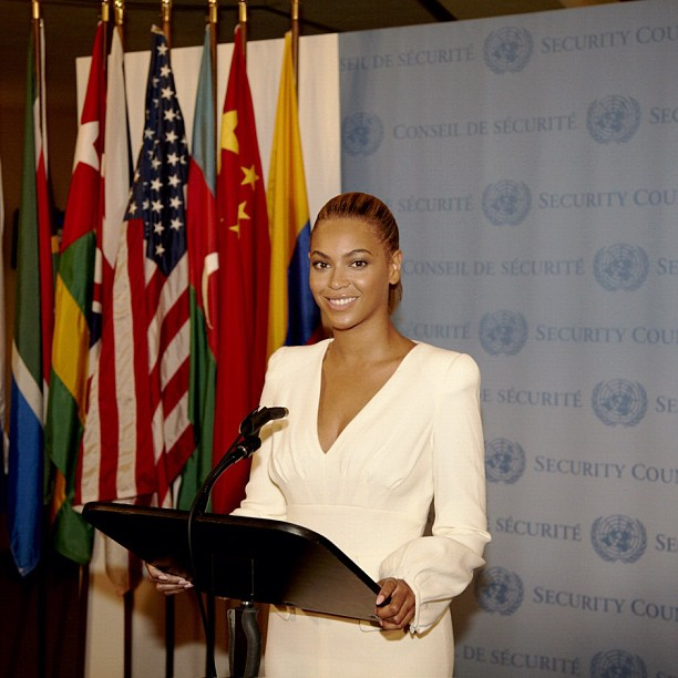 d50aa2ec2561a5b4b3f6cb345f10c331 Hot Shot: Beyonce Lends Voice To World Humanitarian Day