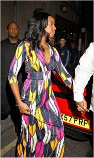 Kelly Rowland Spotted In London