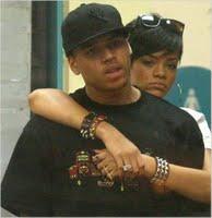 Rihanna & Chris Brown Kissing At KFC