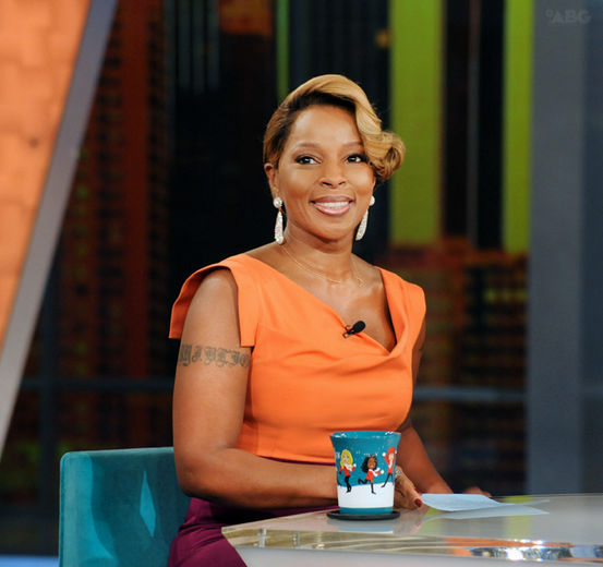 e0f93595688b6c6e108540e335e85542 Mary J. Blige Drops By The View, Talks Whitney Houston & More