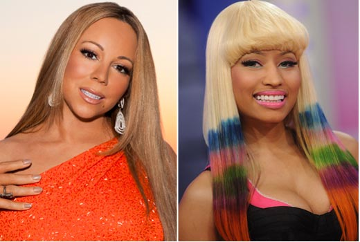 e4802f53d2a9059d53118495a1bf8da2 Meow: Mariah Carey & Nicki Minaj Weigh In...On Each Other