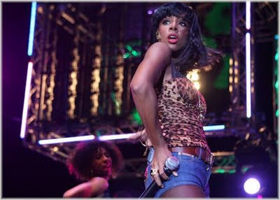Kelly Rowland Performs At BBC 1Xtra Live