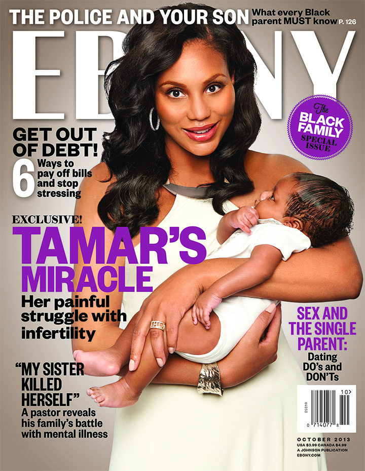 fdf479a9878d71a260588185900d1c3e Hot Shot:  Tamar Braxton And Baby Logan Land Ebony Cover